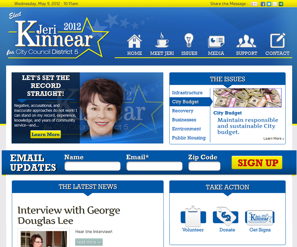 Jeri Kinnear for City Council