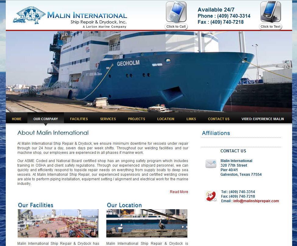 Malin International Ship Repair