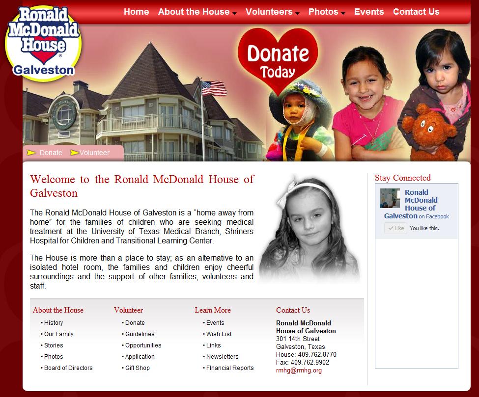 Ronald McDonald House of Galveston